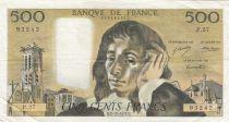 France 500 Francs Pascal - 02-12-1971 Série P.27 - TTB