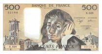 France 500 Francs Pascal - 03-01-1991 - Série X.329 - P.NEUF