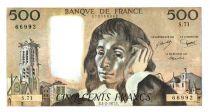 France 500 Francs Pascal - 03-02-1977 - S.71