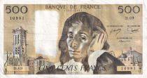 France 500 Francs Pascal - 03-02-1977 - Série D.69 - TTB