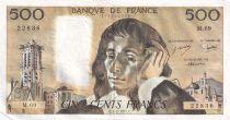 France 500 Francs Pascal - 03-02-1977 - Série M.69 - TTB
