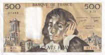 France 500 Francs Pascal - 03-02-1977 - Série R.73 - TTB