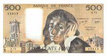 France 500 Francs Pascal - 03-02-1977 - Série S.71 - SUP