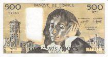 France 500 Francs Pascal - 03-02-1977 - Série W.73 - TTB+