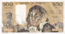 France 500 Francs Pascal - 03-02-1977 - Série X.71 - TTB