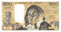 France 500 Francs Pascal - 03-02-1977 Série O.67 - TTB