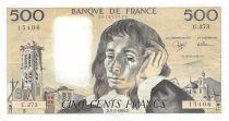 France 500 Francs Pascal - 03-03-1988 - Série U.273 - SUP
