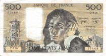 France 500 Francs Pascal - 03-04-1980 Série Z.116 - TTB