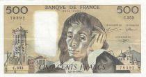 France 500 Francs Pascal - 03-10-1991 Série C.353 - TTB+