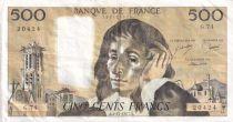 France 500 Francs Pascal - 03-11-1977 - Série G.74 - TTB+