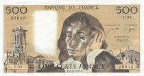 France 500 Francs Pascal - 03-11-1977 - U.83