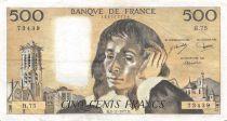 France 500 Francs Pascal - 03-11-1977  Serial H.75 -  VF