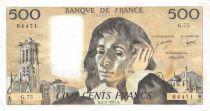 France 500 Francs Pascal - 03-11-1977 Série G.75 - TTB