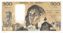 France 500 Francs Pascal - 03-11-1977 Série P.75 - TTB