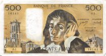 France 500 Francs Pascal - 04-01-1968 Série J.1 - TTB