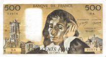 France 500 Francs Pascal - 04-01-1968 Série O.4 - TTB