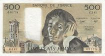 France 500 Francs Pascal - 04-06-1981 Série K.141 - TTB+