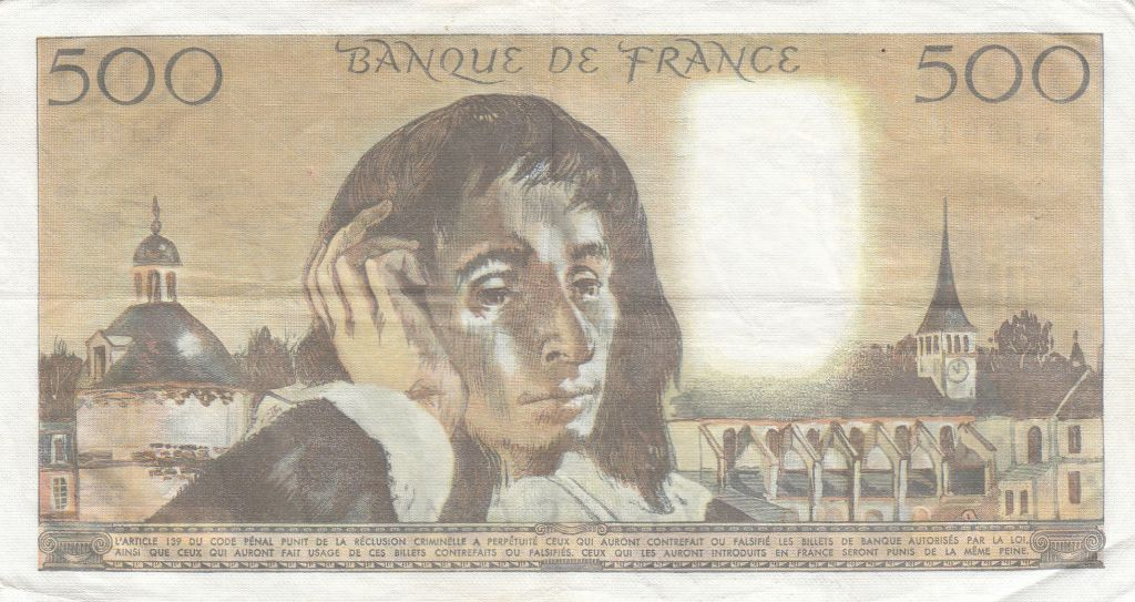 France 500 Francs Pascal - 04-06-1981 Série R.139 - TTB