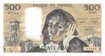France 500 Francs Pascal - 04-09-1980 - Série D.127 - SUP+