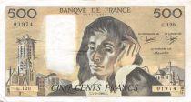 France 500 Francs Pascal - 04-09-1980 Série G.120 - TTB