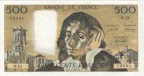 France 500 Francs Pascal - 05-08-1971 Série H.24
