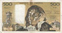 France 500 Francs Pascal - 05-08-1971 Série T.25 - TB