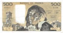 France 500 Francs Pascal - 05-08-1982 - Série N.158 - TTB