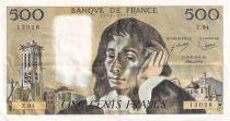 France 500 Francs Pascal - 05-10-1978 Série Z.94 - SUP+