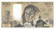 France 500 Francs Pascal - 05-11-1987 - X.267
