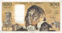 France 500 Francs Pascal - 05-12-1974  Serial R.46 - VF