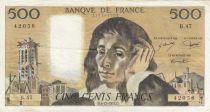 France 500 Francs Pascal - 05-12-1974 Série B.47 - TTB