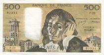 France 500 Francs Pascal - 06-01-1972 - P.29