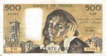 France 500 Francs Pascal - 06-01-1972 Série K.30 - TTB