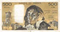 France 500 Francs Pascal - 06-01-1972 Série O.28 - TTB