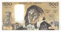 France 500 Francs Pascal - 06-01-1983 - Série G.175 - SUP