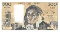 France 500 Francs Pascal - 06-01-1983 - Série U.168 - SUP