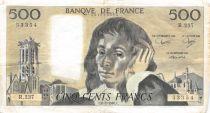 France 500 Francs Pascal - 06-02-1986  Serial R.237 -  VF