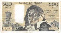 France 500 Francs Pascal - 06-02-1986  Serial R.237 -  VF