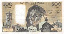France 500 Francs Pascal - 06-02-1986 Série F.243 - TTB