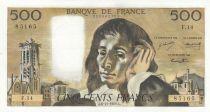 France 500 Francs Pascal - 06-11-1969 - F.14