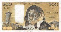 France 500 Francs Pascal - 06-11-1969 Série Q.14 - TB