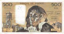 France 500 Francs Pascal - 06-11-1975 Série B.54 - TTB