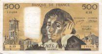 France 500 Francs Pascal - 06-12-1973 - Série H.33 - TB+