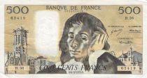 France 500 Francs Pascal - 06-12-1973 - Série H.36 - PTTB
