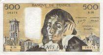 France 500 Francs Pascal - 06-12-1973 - Série R.36 - PTTB