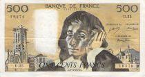 France 500 Francs Pascal - 06-12-1973 - Série U.35 - PTTB