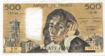 France 500 Francs Pascal - 06-12-1973 Serial B.39 - VF