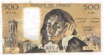 France 500 Francs Pascal - 06-12-1973 Série F.36 - PTTB
