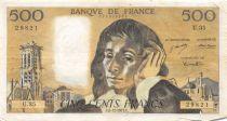 France 500 Francs Pascal - 06-12-1973 Série U.35 - PTTB
