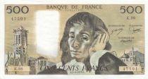 France 500 Francs Pascal - 07-06-1979 - K.98